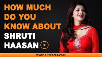 Shruti Haasan – Age, Birthday, Biography, Boyfriend, Net Worth and More
