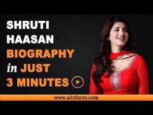 Shruti Haasan – Age, Birthday, Biography, Husband, Net Worth and More