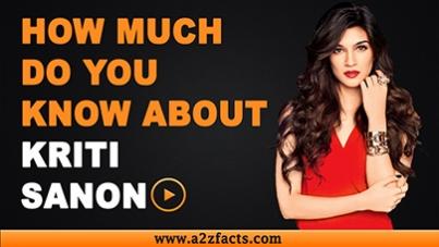 Kriti Sanon – Age, Birthday, Biography, Boyfriend, Net Worth and More