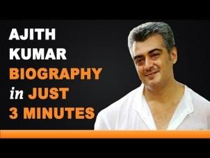 Ajith Kumar – Age, Birthday, Biography, Wife, Net Worth and More