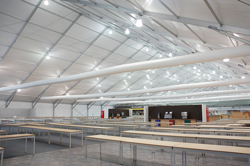 Snow Load Clearspan Tent Structures Arena Americas