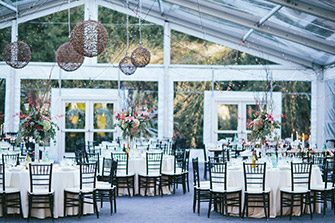 Think About a Clear Tent & How to Have a Beautiful Wedding Tent Rental | Arena Americas