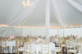 Rent Interior Lighting & How to Have a Beautiful Wedding Tent Rental | Arena Americas