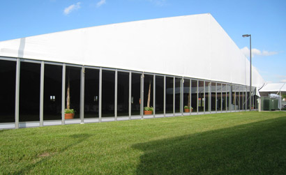 Outdoor party tents are a super way to provide shelter for any event.