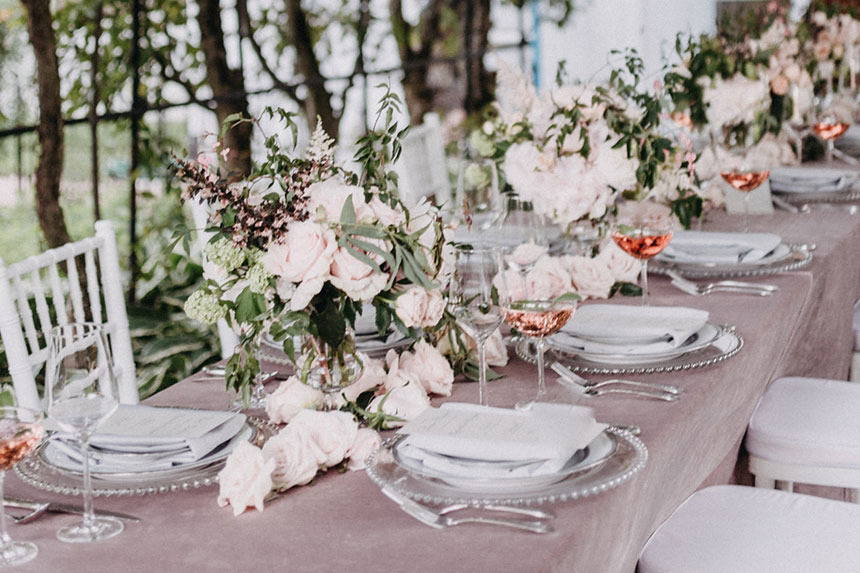 Luxe Japanese Garden Wedding | Well Dressed Tables