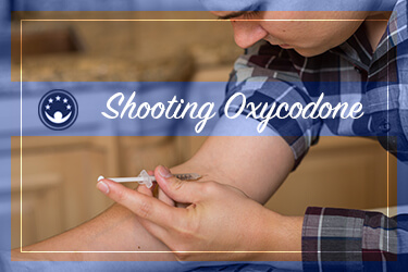 Shooting oxycodone