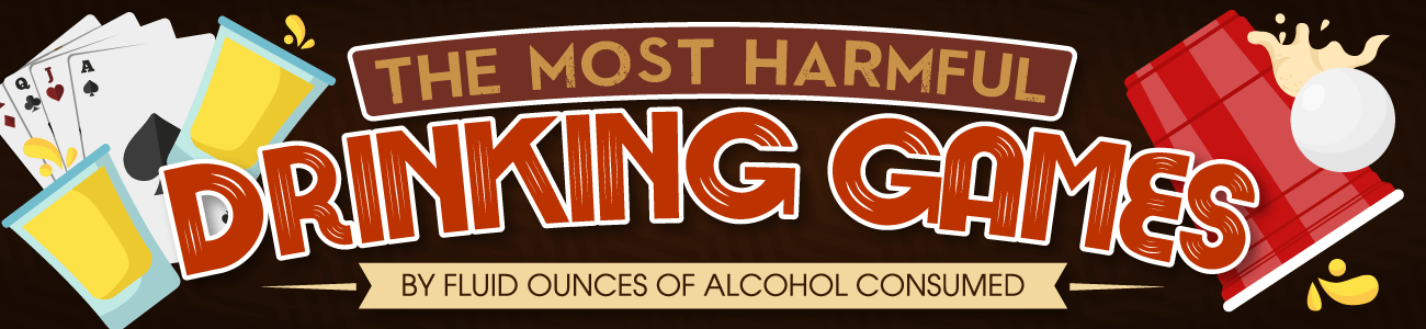 The Most Harmful Drinking Games by Fluid Oz