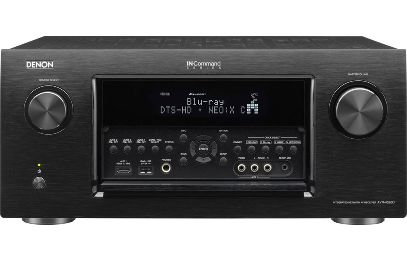 Denon AVR-4520CI Networking Home Theater AV Receiver with AirPlay