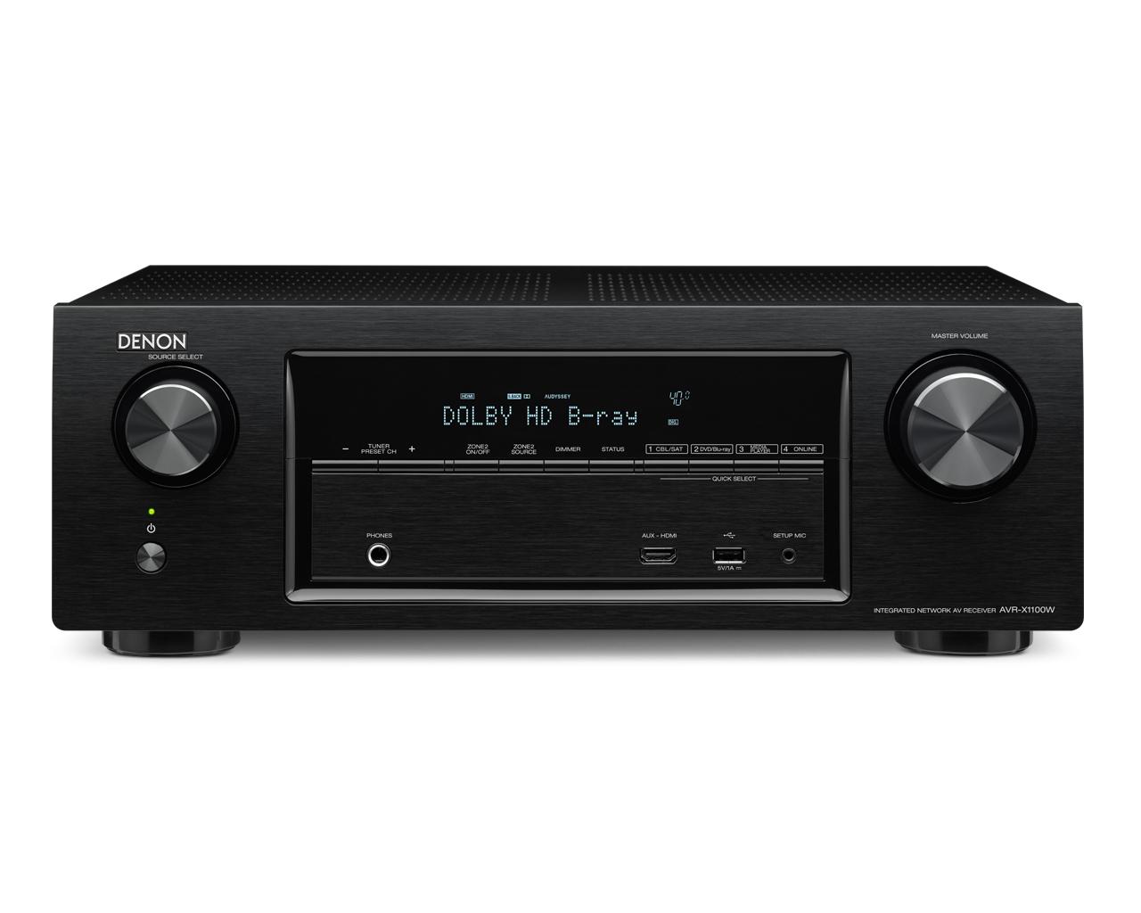 Denon AVR-X1100W HD AV Receiver