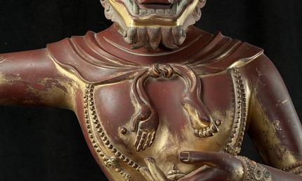 Asian Art Museum   The Buddhist Deity Simhavaktra Dakini