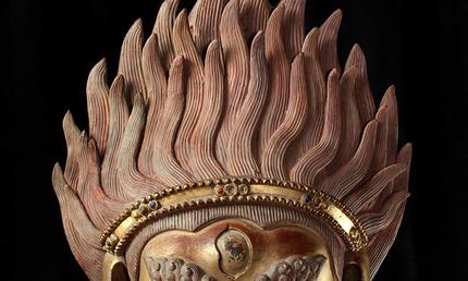 Asian Art Museum | The Buddhist Deity Simhavaktra Dakini