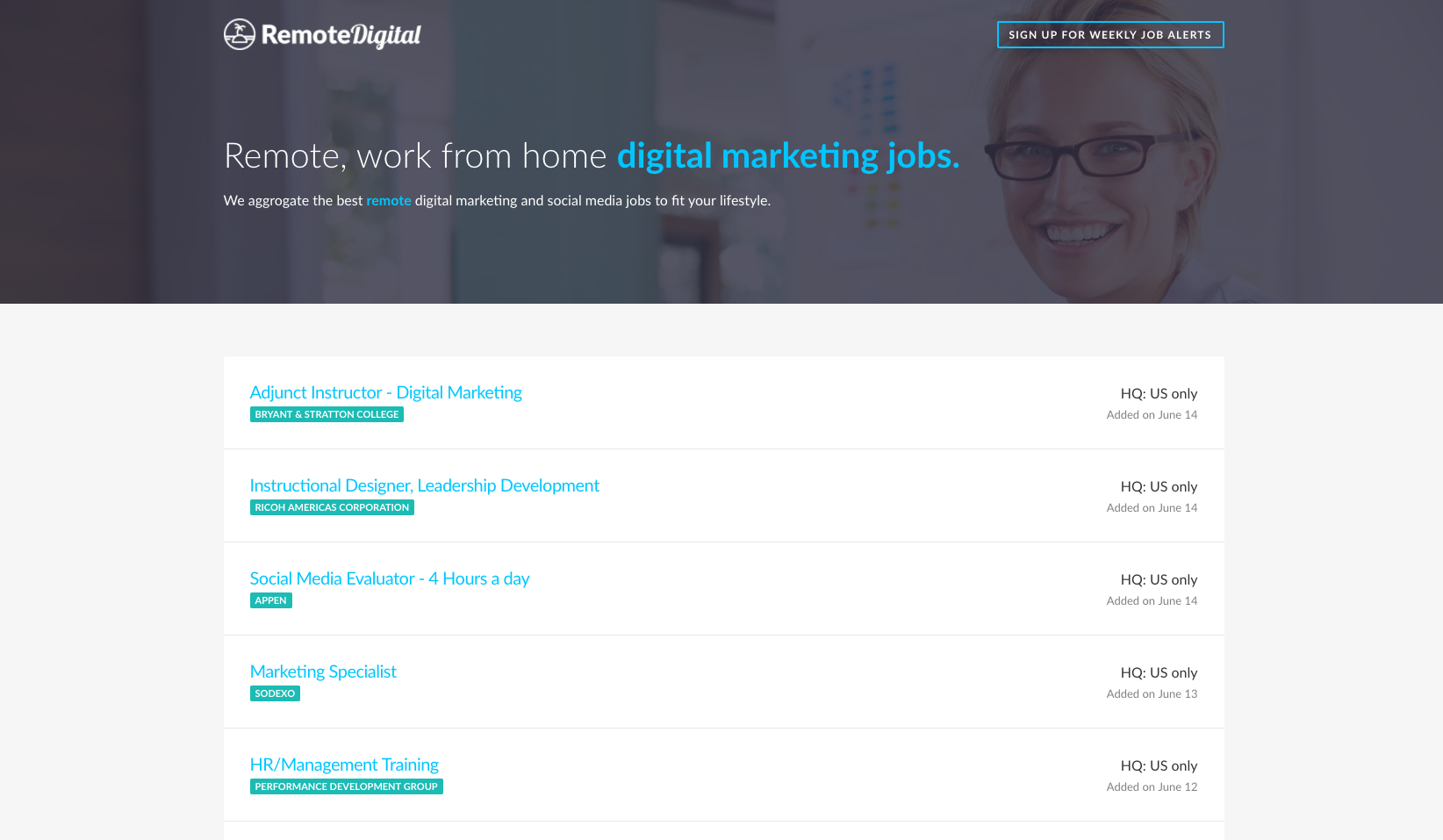 Remote Digital Jobs - Aaron Bartholomew Development