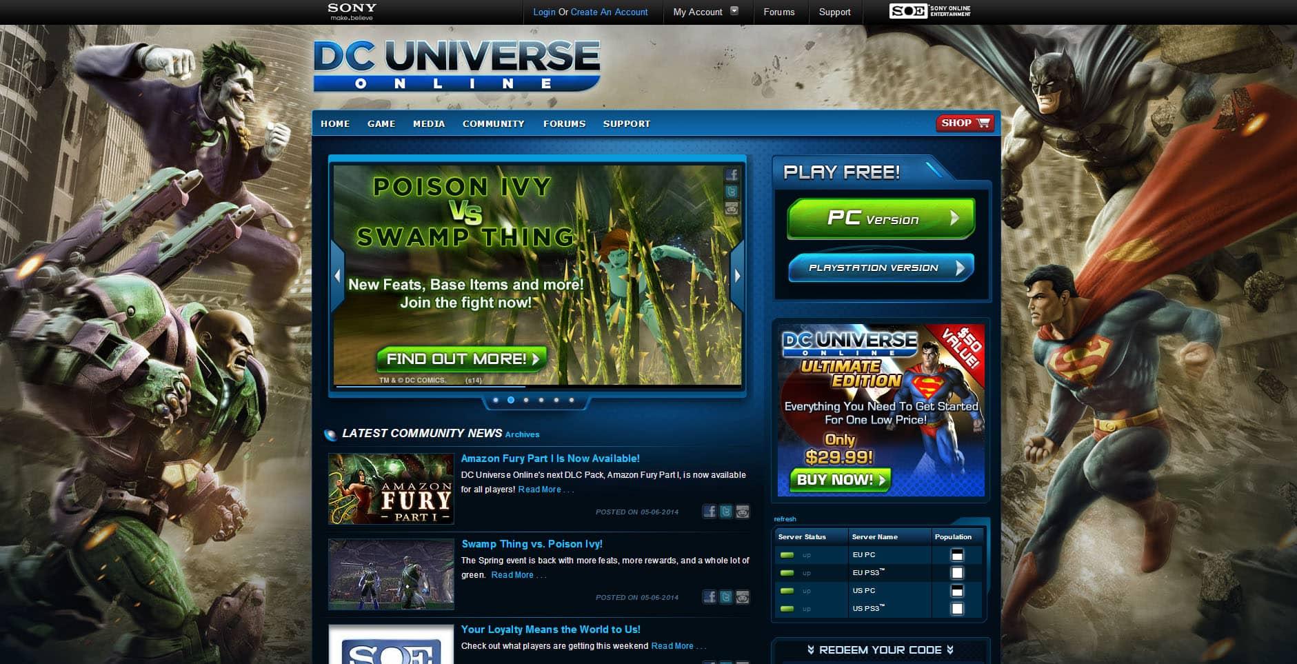 DC Universe Online - Aaron Bartholomew Development