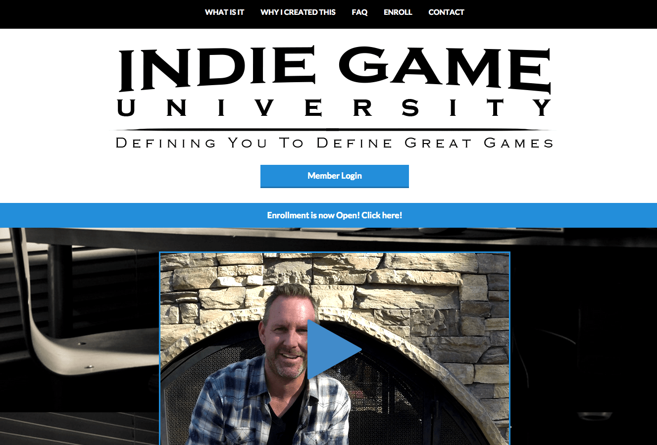 Indie Game University - Aaron Bartholomew Development