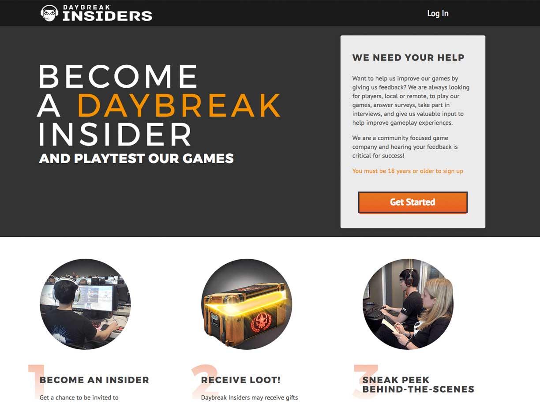 Daybreak Insiders - Aaron Bartholomew Development