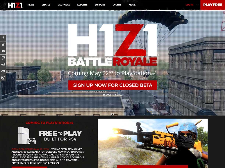 H1Z1 - Aaron Bartholomew Development