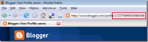 Blogger-Profile