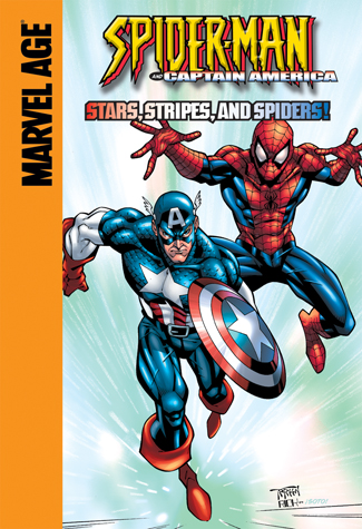 Captain America: Stars, Stripes, and Spiders!