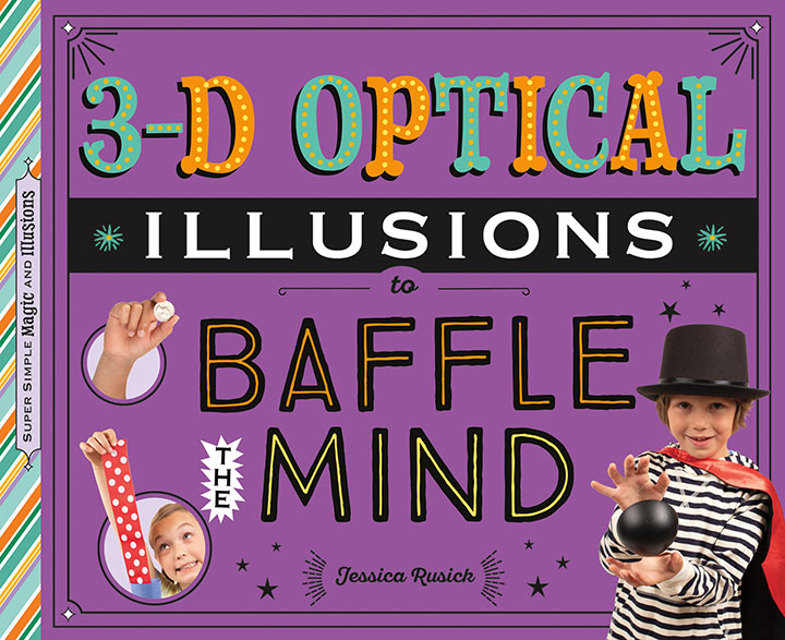 3-D Optical Illusions to Baffle the Mind