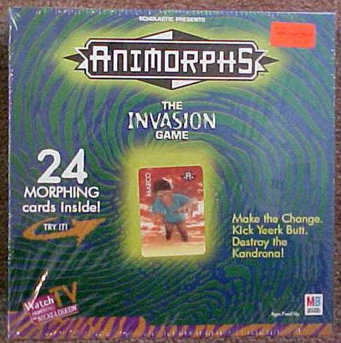 Animorphs: The Invasion Game board game