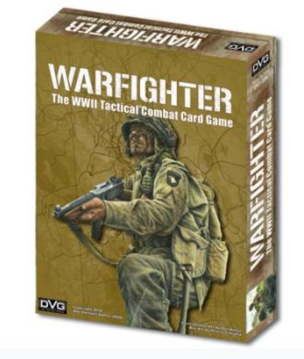 Warfighter: The WWII Tactical Combat Card Game board game