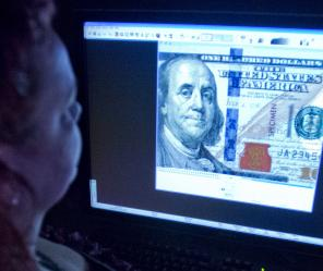 Scanning for counterfeit money