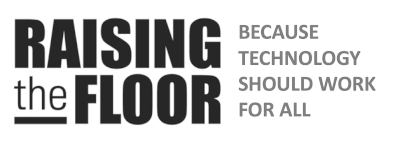 Raising the Floor - because technology should work for all