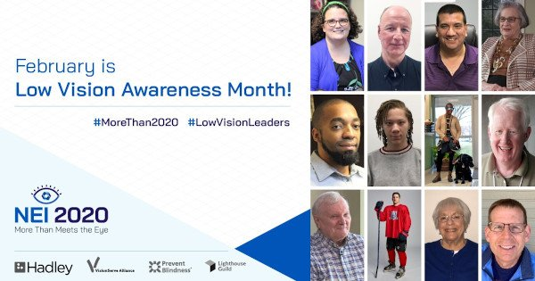 Low Vision Awareness Month - More than 2020