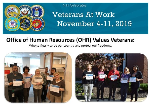 honoring veterans at work recognition