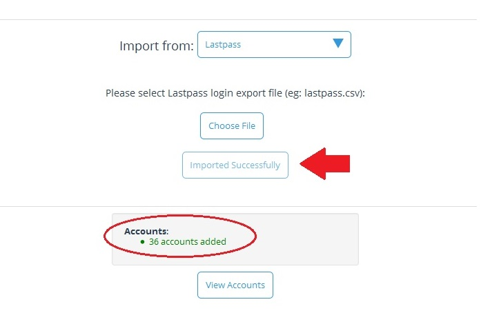 LastPass Import 4