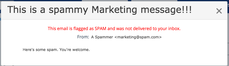 spam-message