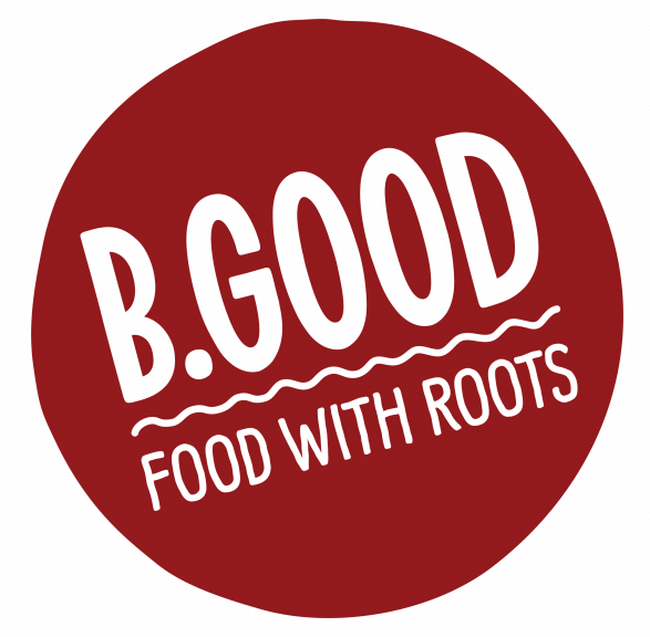 B.Good Food With Roots logo