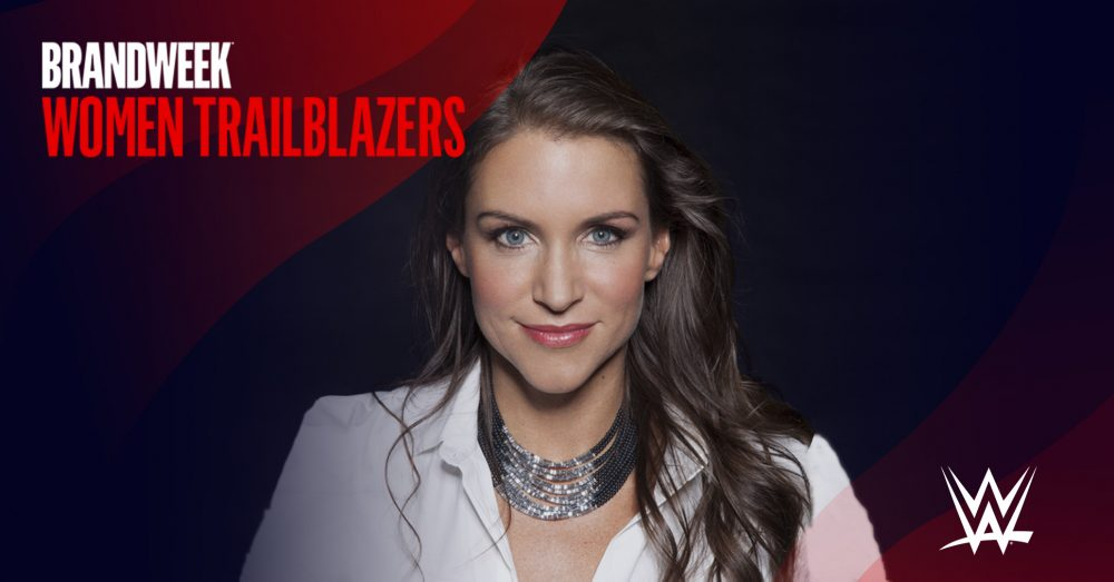 Stephanie McMahon, Chief Brand Officer of WWE