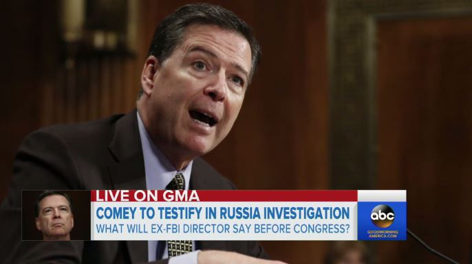 Here's How Networks Will Cover James Comey's Testimony