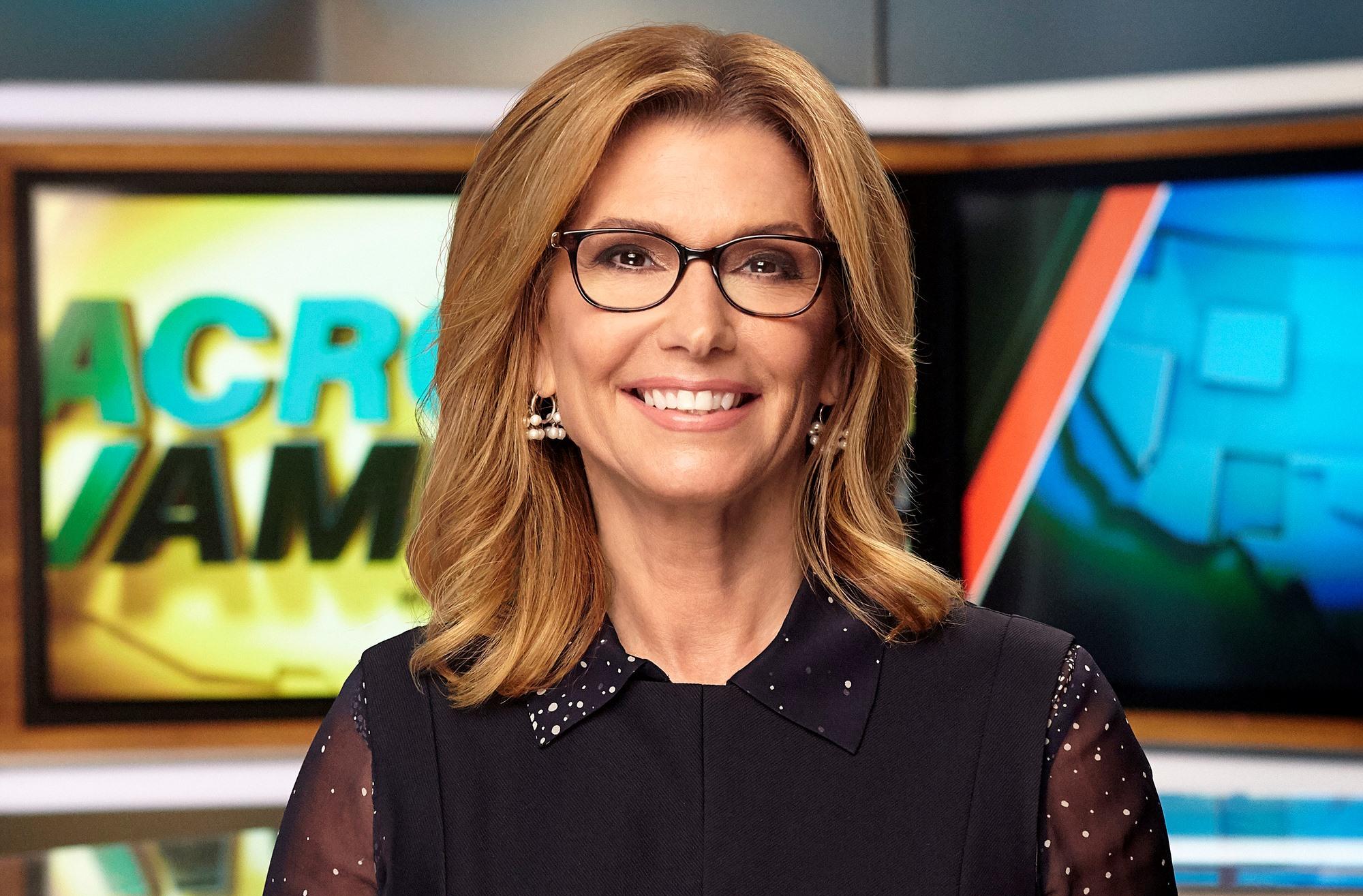 Television personality Carol Costello