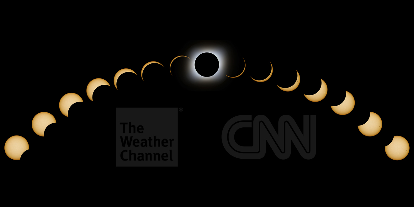Here Are the TV Network Plans for Covering the Total Solar Eclipse