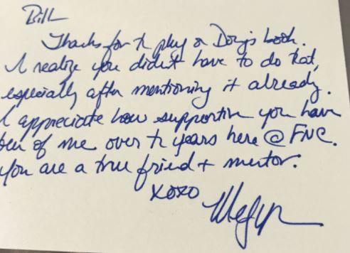 Bill OReilly Shares Handwritten Thank You Notes From Megyn Kelly