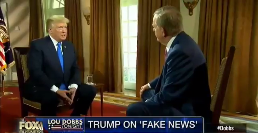 Pres. Trump: 'I'm So Proud I Have Been Able to Convince People How Fake the Media Is'