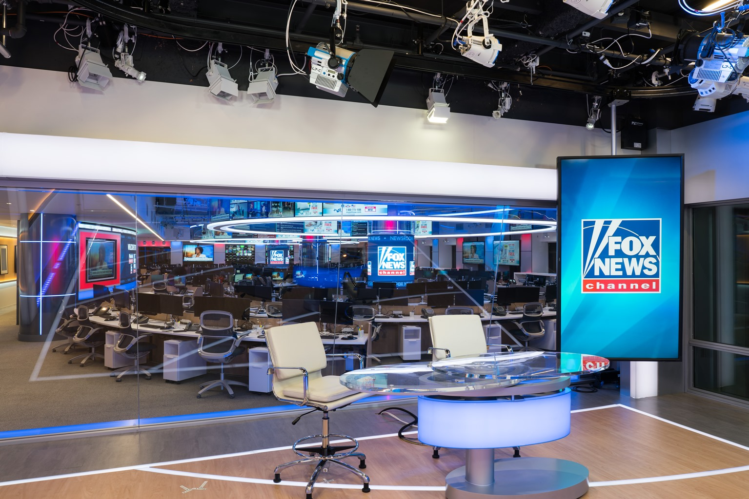Here's a First Look at Fox News' New Newsroom | TVNewser