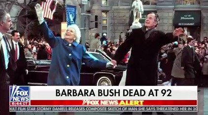 networks break in to report death of barbara bush tvnewser