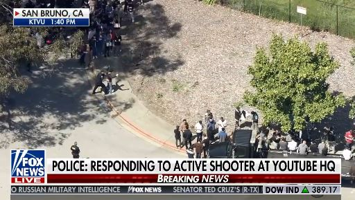 Networks Break In With News of Shooting at YouTube