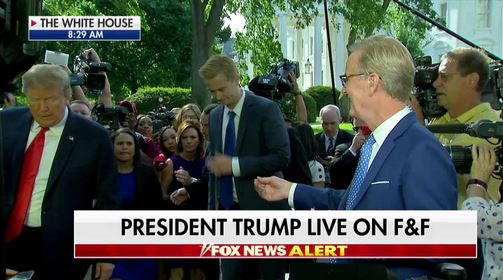 Fox & Friends' One-on-One With Trump Didn't Go as Planned