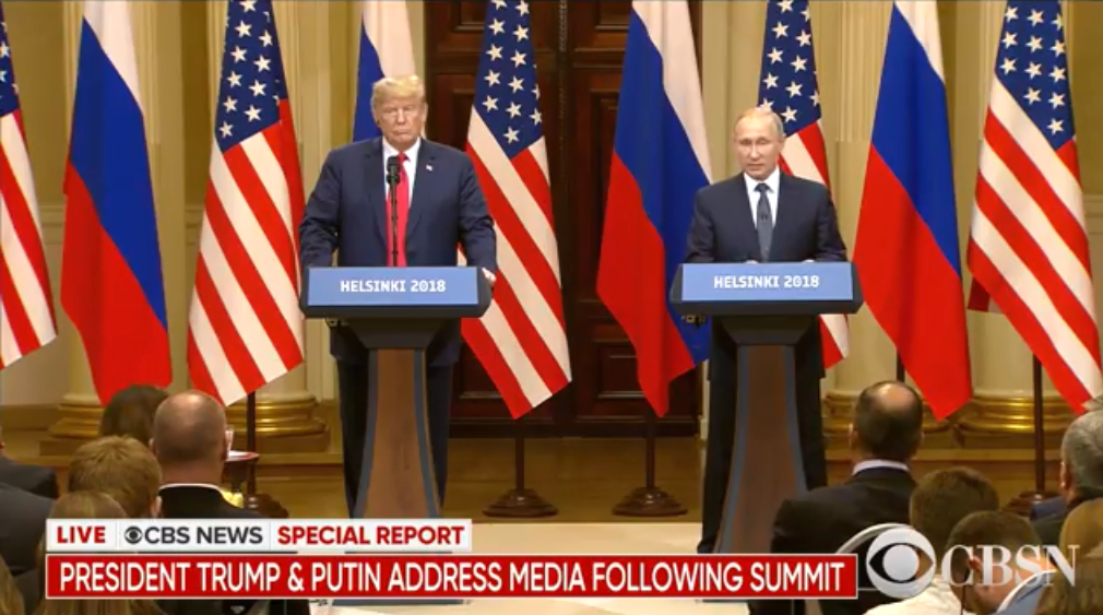 President Trump's Performance at Helsinki Summit Presser ...