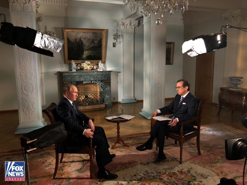 Chris Wallace Asks Putin Why So Many of His Political Rivals End Up Dead