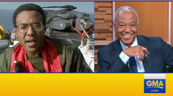 Ron Claiborne Says Goodbye to GMA Weekend and ABC News