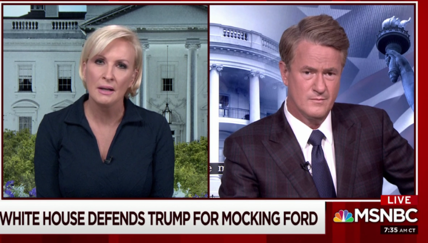Mika Brzezinski to Chris Cuomo: 'You Have Offended Me as a Competitor And as a Woman And as a Victim of a Violent Sexual Assault'