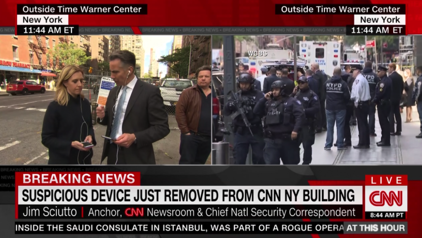 Jeff Zucker: 'The NYPD Has Concluded Its Security Sweep, and It Is Now Safe to Return to the Building'