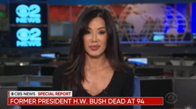 How TV News Is Covering the Passing of President George