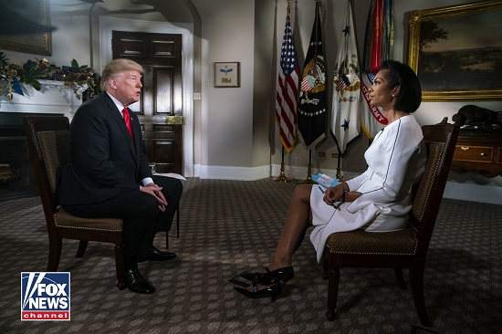 The Media Had Mixed Reactions to Harris Faulkner's Interview with President Trump
