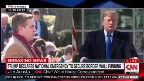 President Trump and CNN's Jim Acosta Clash Yet Again at a Press Conference